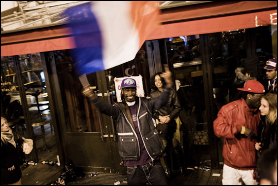 6 mai 2012 à Bastille