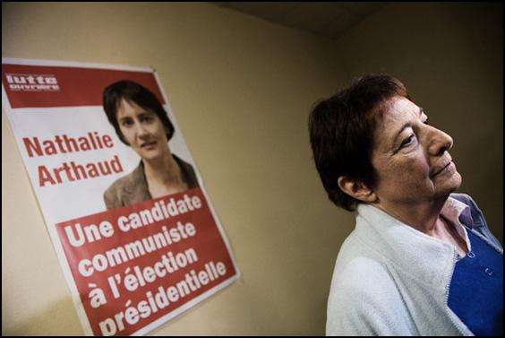 Arlette Laguiller lutte ouvriere